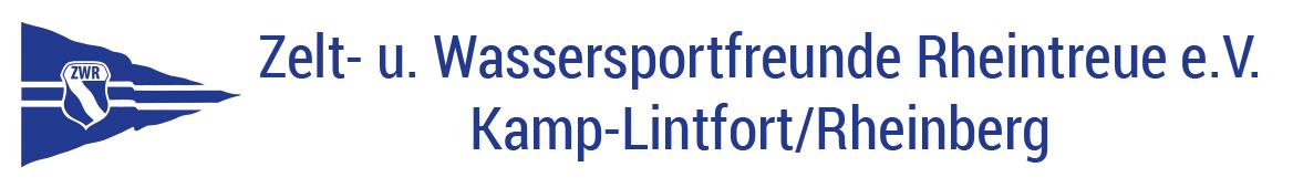 ZWR – Zelt- und Wassersportfreunde Rheintreue e.V.